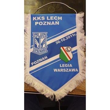 Proporczyk Lech - Legia 30.10.2011