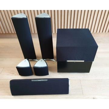 Zestaw głośników kina domowego Jamo A 405 HCS 5