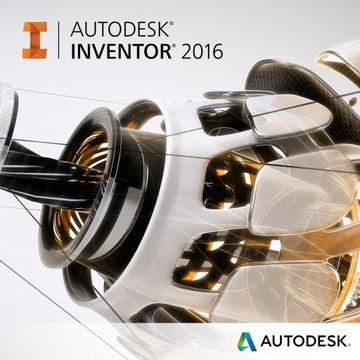 Autodesk Inventor 2016 licencja sieciowa NLM