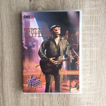 Curtis Mayfield koncert DVD