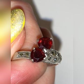 Srebrny stary pierścionek próba 925