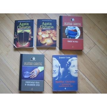 Agata Christie kolekcja 4 książek + 1 gratis