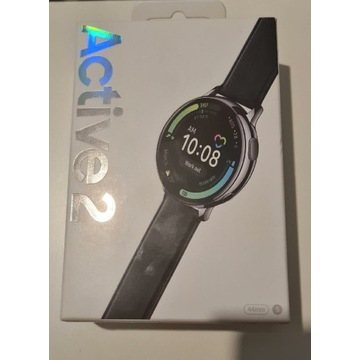 Watch Active 2 44mm (srebrny) stalowy  - nowy