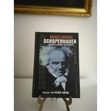 Książka Schopenhauer dzikie czasy filozofii