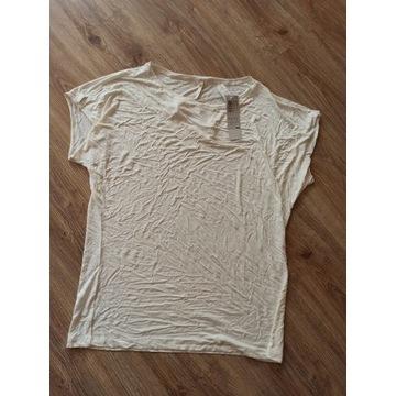 Kremowa koszulka nowa triumph XL