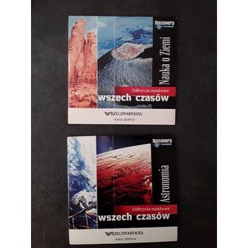 Odkrycia naukowe: nauka o ziemi, astronomia DVD