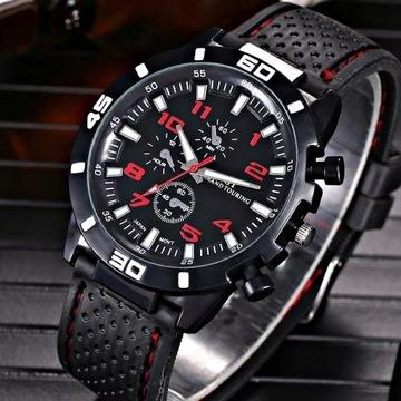 Zegarek męski w stylu sportowym LICYTACJA