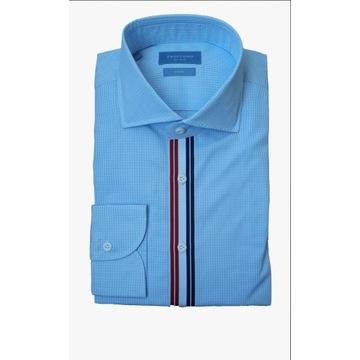 Koszula Profuomo Sky Blue roz. 41 slim fit