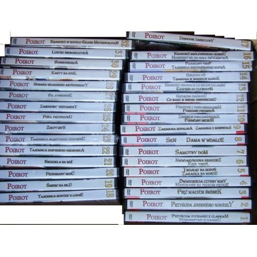 POIROT cała kolekcja 32 DVD kryminały A. Christie