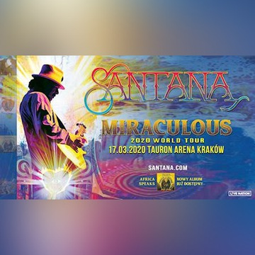 Bilety na koncert Carlos Santana Kraków 17.03.2020