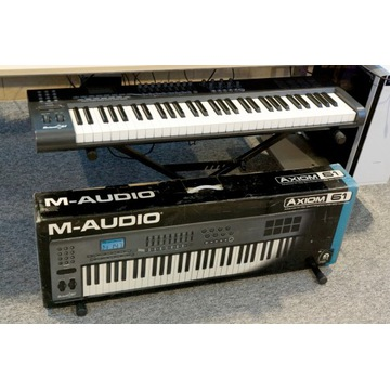 M-Audio Axiom 61 - klawiatura sterująca MIDI