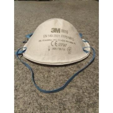 Maska Półmaska filtrująca przeciwpyłowa 3M  FFP2