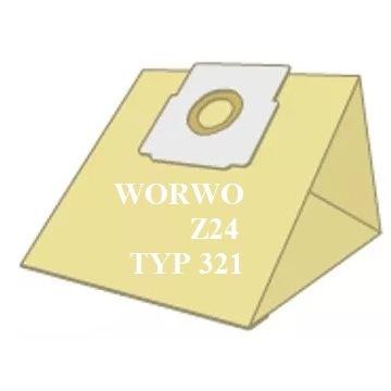 WORKI DO ODKURZACZA 5x WORWO Z24 typ 321 ZELMER