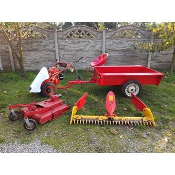 MF 70 Traktorek kosiarka mulczer przyczepka Dzik