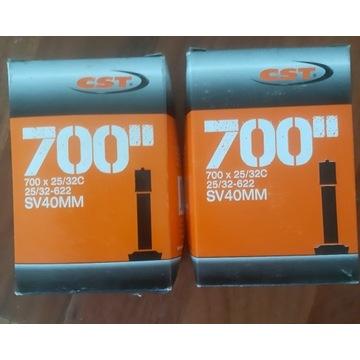 2 nowe dętki 700x25/32c