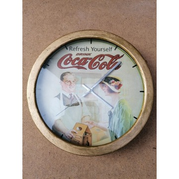 Zegarek wiszacy Coca Cola
