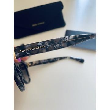 Okulary przeciwsłoneczne Dolce&Gabbana jak nowe