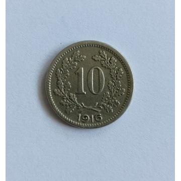10 heller 1916 Austria
