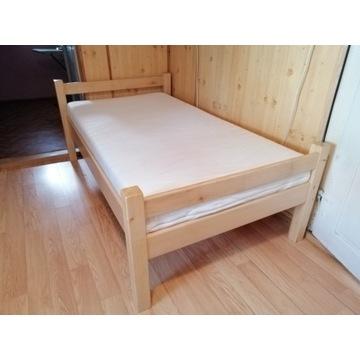 Łóżko pojedyncze 103 x 180 z materacem jak nowe!