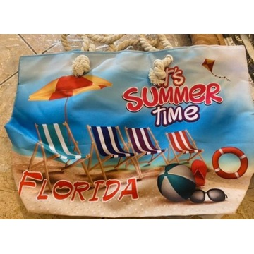 Torba na lato na plażę summer Florida