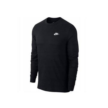 Koszulka długi rękaw Nike męska czarna rozmiar M