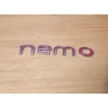 Emblemat Citroen Nemo tył