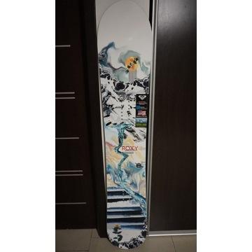 Damska Deska Snowboardowa Roxy Smoothie 152cm