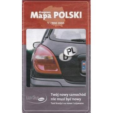 EKO-GRAF/LUKAS BANK drogowa mapa Polski 1:700000