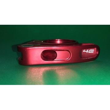 Obejma podsiodłowa 4Ever czerwona QR śred. 31,8mm
