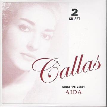 MARIA CALLAS STUDIO Verdi Aida 2cd