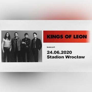 4x bilet KINGS OF LEON Wrocław 24.06.2020