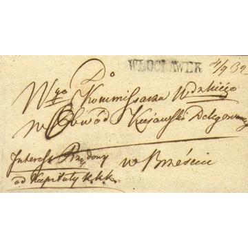 Królestwo Polskie - Włocławek - 1832 r.