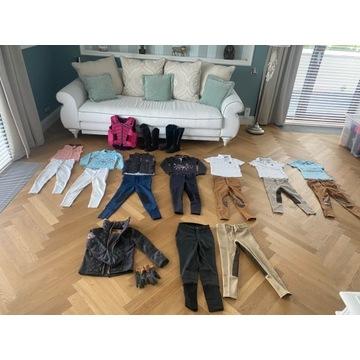 Kamizelka,kozaki Busse, Furganza dziecięce 5-8 lat