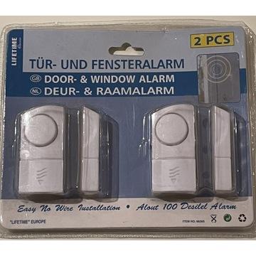Czujniki otwarcia drzwi okien