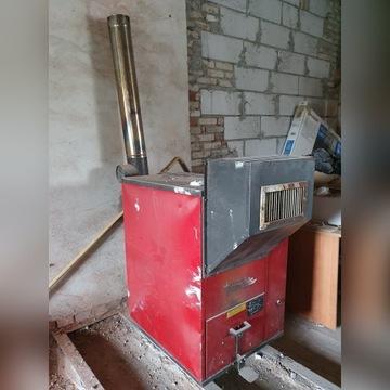Piec na przepracowany Olej Silnikowy