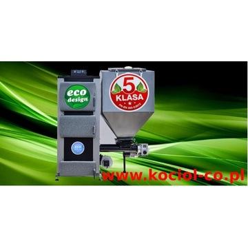 Kocioł 35kw 350m2 Ecodesign 5 klasa Ekogroszek