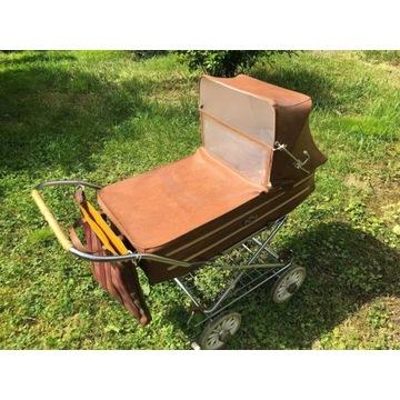 Piękny wózek spacerowy retro PRL /stan idealny