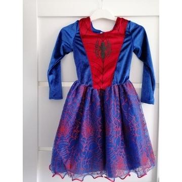 Sukienka bal przebierańców 122-128
