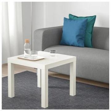 Stolik LACK IKEA Stolik kawowy Biały/Czarny