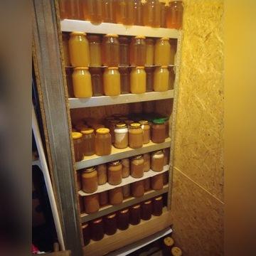 Miód wielokwiatowy 25zł/1,4kg ; gryczany ;akacjowy