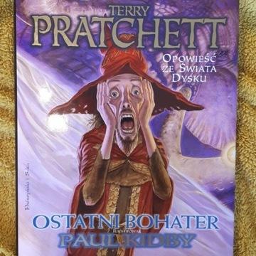 """Terry Pratchett """"Ostatni bohater"""" Z AUTOGRAFEM!"""