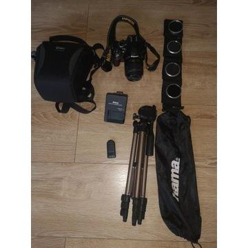 Aparat Nikon D3200