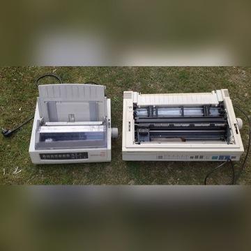 Dwie drukarki igłowe :Oki i Panasonic