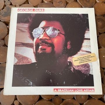 George Duke - A Brazilian Love Affair LP 79r Epic