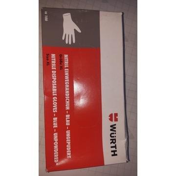 rękawiczki nitrylowe wurth XL