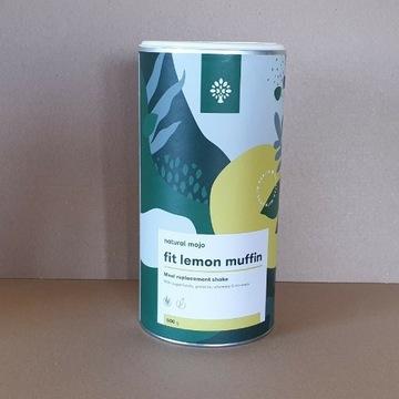 NATURAL MOJO FIT SHAKE KOKTAJL - LEMON MUFFIN