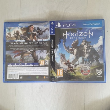 Ps4 Horizon Zero Dawn dubbing używana pudełko bcm