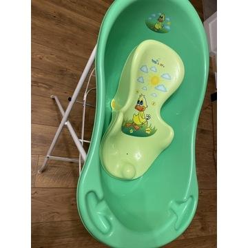 Wanienka ze stojakiem dla niemowląt