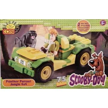 Cobi 23082 SCOOBY-DOO Panther pursuit NOWE UNIKAT