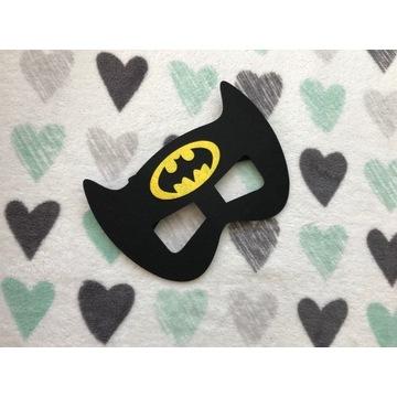 Nowa filcowa maska dziecięca karnawał Batman